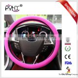 Fashionable Folding Auto 13 Inch Silicone Steering Wheel Cover