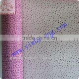 Wholesale soft pink polyester sparkle tulle for fabric