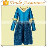 Beautiful Princess Brave Merida's Adventure Princess Girl Dress