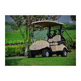 Battery Operated 2 Seater Golf Carts 48V 3 KW Custom Street Legal Golf Carts