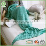 Adult 100% Arcylic Mermaid Tail Blanket