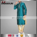 Muslim men wear embroidered thobe stand collar style thawb robe 2017