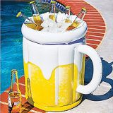 High quality inflatable ice bucket cooler summer party drinks bottle beer can holder for sale