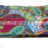 kantha quilt wholesale indian kantha quilts paisly printed quilt