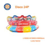 Zhongshan amusement equipment swing dancing rides disco turning Tagada 24 seat Disco, large crazzy game, luxury dancing