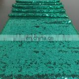 Green Sequins Table Runner For Wedding Birthday Party