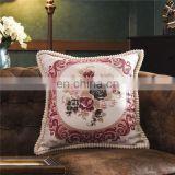 meditation cushion cover embroidery design wholesale