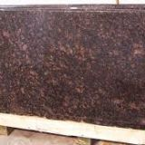Tan brown granite floor tiles kitchen countertops polished