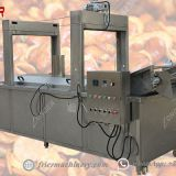 Board Bean Industrial Continuous Fryer Machine Stainless Steel