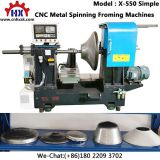 Export India Simple Cnc Metal Spinning Process Forming Machines Lathe