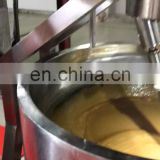 commercial electric cooking pot jacket kettle with agitator cooking kettle jacked kettle machine
