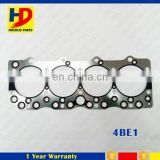 4BE1 Excavator Engine Parts For Isuzu Cylinder Head Gasket Diesel