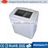 Home use semi automatic plastic portable washing machine