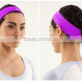 OEM elastic stretch headband, sports headband,basketball headband