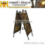 used folding military stretcher medical stretcher