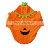 Halloween Festival Pumpkin Dog Apparels with Shorn Velvet Material and Extra Heavy Soft Wool fit for Autumn and Winter