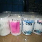 cotton buds in PP round box 100pcs