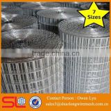 "Welded Galvanised Wire Mesh Fence 1"" x 1"" 1"" x 1/2"" 1/2"" x 1/2"" 15m 30m Aviary Wire"