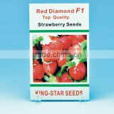 Opp Laminated Foil Paper Strawberry Seeds Packaging Bags                                                                         Quality Choice