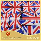 Country flag design printing fabric / UK United kingdom flag/ England national flag printed fabric
