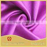 Gorgeous tricot knitted satin fabric /Polyester spandex elastic satin fabric for evening dress                                                                         Quality Choice