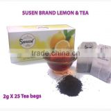 Flavor Lemon 2g x 25 Tea Bags Black Tea Ceylon Tea