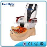 Fiberglass pedicure tub modern salon chairs