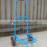 Hand luggage cart and foldable hand trolley