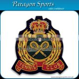 Bullion Badges Hand Embroidered Bullion Blazer Club Badges PS-159
