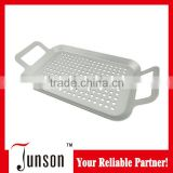 Non-stick Roasting Pan With Handles/Small Square Roaster/Barbecue Grill Pan