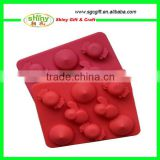 LFGB Passed Fruit Shape Molds De Silicone De Chocolate                                                                         Quality Choice