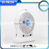 China Products Portable Mini Fan Rechargeable with Battery Power Bank