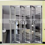 European style aluminum track for sliding door,lowes glass interior folding doors,folding door
