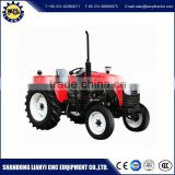 4WD farm tractor Wheel Type 4x4 compact tractor with loader