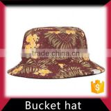 Custom camo plain bucket hat wholesale