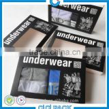 China Factory Professional Printing Men Underwear Paper Box, Coated Paper Box For Underwear, Cardboard Underwear Paper Package