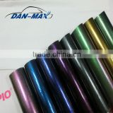 New Product 1.52*20m/Size Air Free Bubbles Car Decal Wrap Vinyl Pearl Chameleon Glitter Aluminum Foil