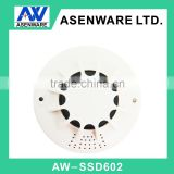 9V battery potable lithium battery with buzzer wireless smoke detector