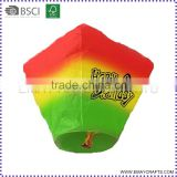 100 biodegradable chinese sky flying paper lanterns