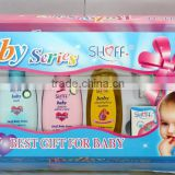 Organic baby body skin care gift sets