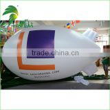 Outdoor Commercial PVC Custome Zepplin / Inflatable Sky Helium Blimp Balloon / Inflatable RC Airship