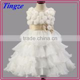 Hot selling fashion designs handmade charming party dress boutique noble girl prom dress TR-WS06