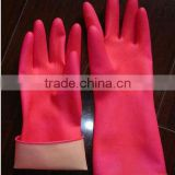 55g latex household gloves pink