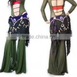 SWEGAL Belly dance Costume belly dance hip scarf,tribal belly dance hip scarf SGBDW120023