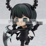 Cool Small Black japan girl with weapon anime figure/Customized limited edition japanese anime small Plastic Figures