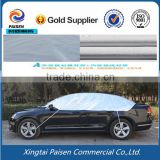 anti sun waterproof half body car cover/ water protection auto cover/peva car shade                                                                         Quality Choice