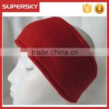 A-120 polar fleece sport winter ear warmers for running skating fleece headband earmufs athletic fleece headband