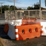 rotomolding plastic traffic barricade