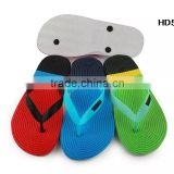 Popular Fancy Shoes Beach Colorful Footwear Comfortable Men High Elastic EVA Hemp Rope Straw Insole Slippers