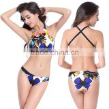 Sexy Women's Bikini Set Push-Up Bra Swimsuit butterfly Beachwear